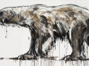 Ralf Koenemann painting Polar Bear 18