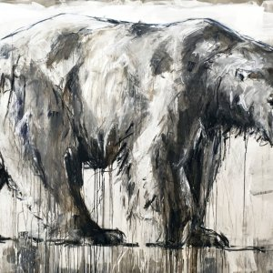 Ralf Koenemann painting Polar Bear 31